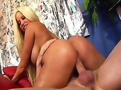 Incredible pornstar Gina Lynn in amazing latina, facial xxx video
