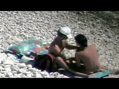 Hidden camera on the beach 4