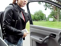 zoe doll hitchhikes and banged at home
