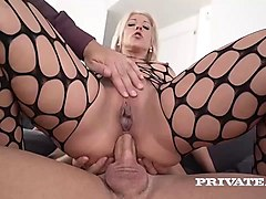 nikyta enjoys hard anal while her husband watches