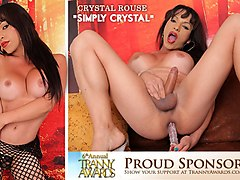 Crystal Rouse in Simply Crystal - TransAtPlay