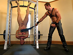 Derek Pain endures the Torturous BDSM Workout