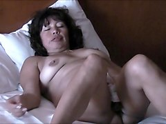 ASIAN WIFE DRINK BEER AND COCK