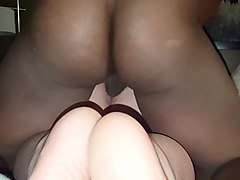 BBW wife squirting on BBC