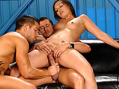 Crissy Moon & Cody Cummings & Rod Daily in Triple Threat XXX Video
