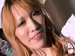 blonde and brunette asian shemale nurses explore each other