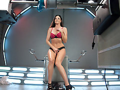 Exotic milf, fetish xxx clip with horny pornstar India Summer from Fuckingmachines