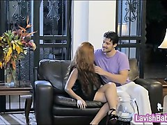 perky tits babe bianca resa erotic sex with handsome man