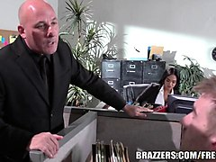 brazzers  selena santana gets fucked in the office