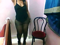 sizzling hot amateur indian babe with gorgeous fat ass