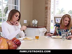 FamilyStrokes - Learning To Fuck From Big Bro