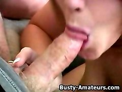busty amateur lisa on hot pov video