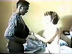 Interracial retro video