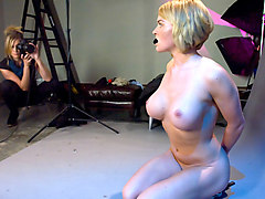 Fabulous fetish, lesbian porn scene with amazing pornstars Maitresse Madeline Marlowe and Krissy Lynn from Whippedass