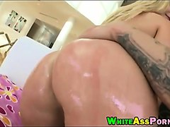 hot blonde whore aj applegate fucked in her twat and butt