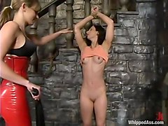 Audrey Leigh and Wenona in Whippedass Video