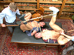 School punks take a double edging punishment