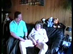 Ugly old slut having fun eith younger neighbor
