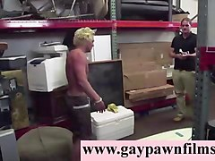 blonde straight strips for gay video for cash