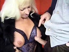 outside granny sex