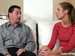 returning the favor by sucking step dad