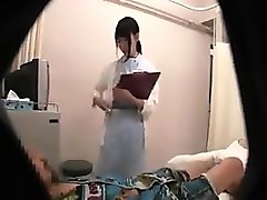 petite asian nurse invites a guy to satisfy her strong sexu