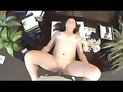 Horny pornstar Leenuh Rae in amazing creampie, office sex movie