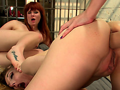 Hottest anal, fetish xxx clip with exotic pornstars Dana DeArmond, Claire Robbins and Emma Haize from Everythingbutt
