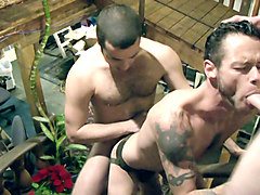 Damon Dogg & Dane Caroggio & Riley Anders in Fuck'd Stoopid Scene 1 - Bromo