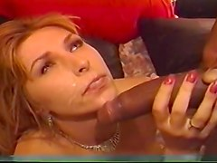 Ripped Black Stud Tears Whore A New Hole