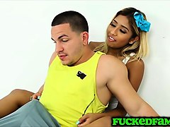 stepsis ally berry fools around with bro because she can