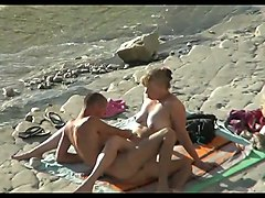 Hidden camera on the beach 1