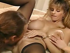 Nasty Boy Franky Gets Lucky with Two Blonde Whores