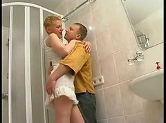 Russian Mature Fucked InThe Bathroom russianass