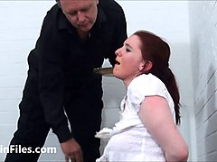 bizarre spanking and messy humiliation of enslaved isabel dean in degrading domination