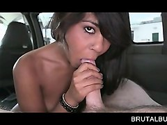 choco beauty sucks and rides sex bus shaft