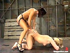 Sandra Romain and Taylor Jolie in Whippedass Video