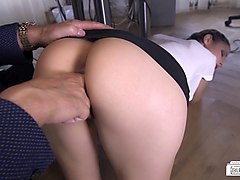 bums buero - hardcore sexcapades at the office with boss, secretary and spying coworkers