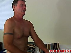 conner sucks a cock by the pool then gets fucked by brett