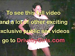 public orgy with a pregnant girl through car windows