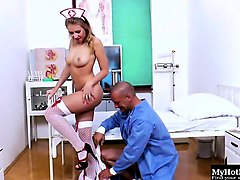 sandriah is the most popular nurse at the hospital, and...