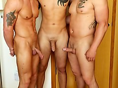 Domenic, Nick Tower & Tanner Military Porn Video