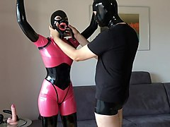 bupshi - rubber doll trained and fucked
