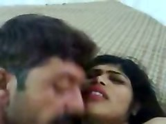 ardent spoiled amateur desi housewife was blowing her hubby's hairy cock