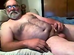 Sexy Hairy Jim Beats Off