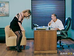 bootylicious alexis rides the dick better than any other office girl
