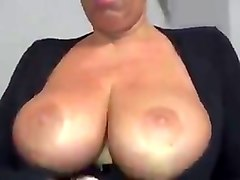 Dutch big booty mature gets her pussy fucked hard