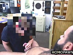 straight cock mature dude fucked horny ass in the shop to get relief