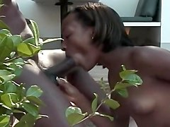 Black Girl Sucking Dick On The Porch