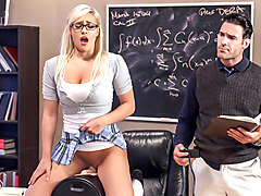 Kylie Page & Charles Dera in Math Can Be Stimulating - Brazzers